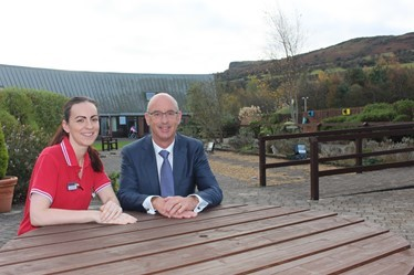 Nurse Ciara Barry and Pinnacle Chairman Ken Montgomery.JPG (1)