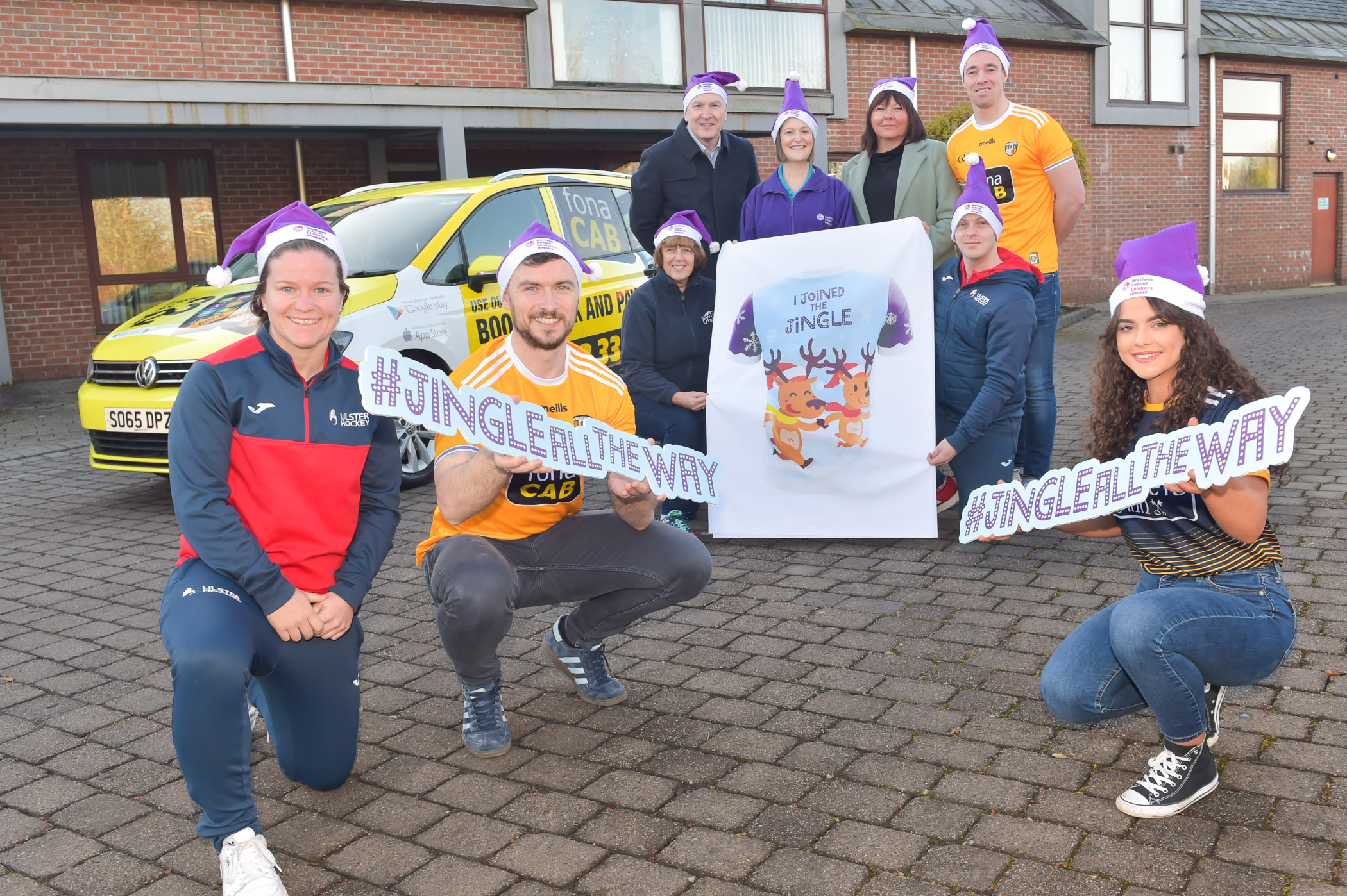 Sports communities show their support for NI Children's Hospice Christmas campaign.jpg