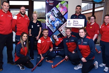 Ulster Hockey players and committee members launch their three year partnership with NI Childrens Hospice.jpg (1)